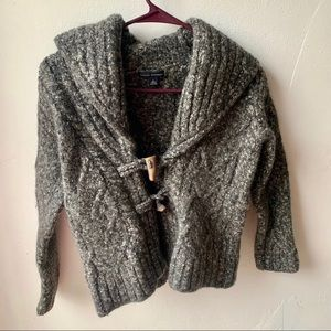 Banana republic thick wool cardigan